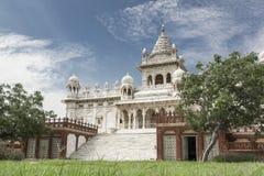 Висок Jaswant Thada, Джодхпур - Индия Стоковые Фотографии RF