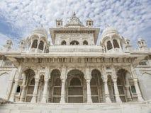 Висок Jaswant Thada, Джодхпур - Индия Стоковая Фотография RF