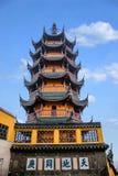 Висок Jinshan, провинция Zhenjiang, Цзянсу Стоковые Фотографии RF