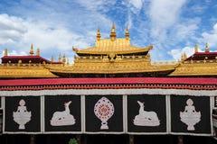 Висок Jokhang Стоковое Изображение