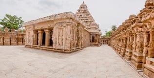 висок kanchipuram kailasanatha Стоковые Фотографии RF