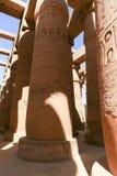 Висок Karnak - большинств огромный висок на Египте Стоковая Фотография