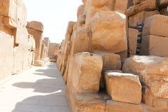 Висок Karnak - большинств огромный висок на Египте Стоковые Фотографии RF