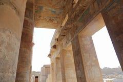 Висок Karnak - большинств огромный висок на Египте Стоковое Фото