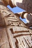 Висок Karnak - большинств огромный висок на Египте Стоковые Изображения