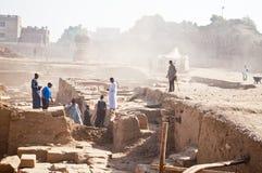 висок karnak Египета Стоковые Фотографии RF