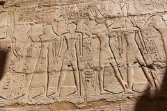 Висок Karnak - Египет Стоковые Фотографии RF