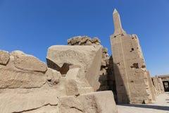 Висок Karnak - Египет Стоковая Фотография