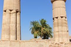 Висок Karnak - Египет Стоковые Изображения RF