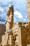 Висок Karnak Стоковое фото RF