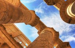 Висок Karnak Стоковые Изображения