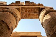 Висок Karnak стоковая фотография rf