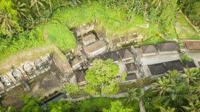 Висок kawi Gunung в Бали, ubud ИНДОНЕЗИИ стоковое изображение rf