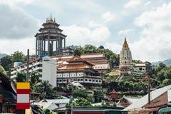 Висок Kek Lok Si буддийский висок в Penang, и один из самых лучших известных висков на острове Стоковые Фото