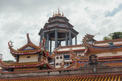 Висок Kek Lok Si буддийский висок в Penang, и один из самых лучших известных висков на острове Стоковые Изображения
