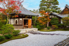 Висок Kennin-ji в Киото, Японии стоковая фотография