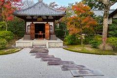 Висок Kennin-ji в Киото, Японии Стоковые Изображения
