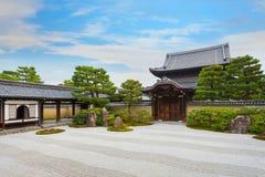 Висок Kennin-ji в Киото, Японии Стоковые Изображения RF