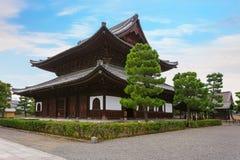 Висок Kennin-ji в Киото Стоковое Фото