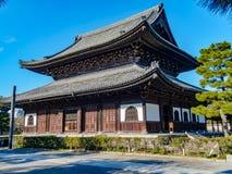 Висок Kennin-ji Стоковые Изображения