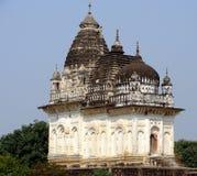 Висок Khajuraho, Индия Стоковая Фотография