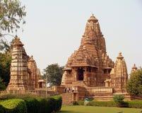 Висок Khajuraho, Индия Стоковое Изображение