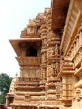 Висок Khajuraho, Индия Стоковое фото RF