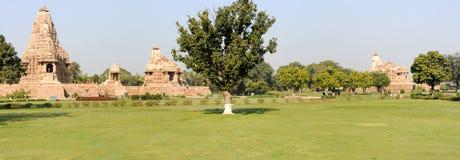 Висок Khajuraho на Индии Стоковое Фото