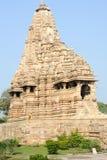 Висок Khajuraho на Индии Стоковое Изображение