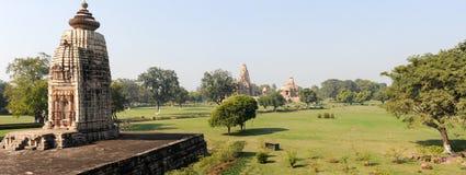 Висок Khajuraho на Индии Стоковая Фотография