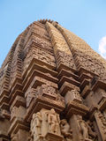 висок khajuraho Стоковое Изображение
