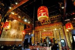 Висок Khoo Kongsi китайский, Penang, Малайзия Стоковые Изображения