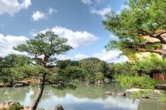 Висок Kinkaku-ji, Киото, Япония Стоковое фото RF