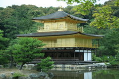 висок kinkakuji стоковое изображение rf
