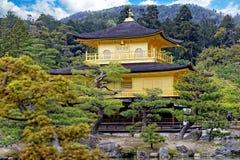 Висок Kinkakuji Стоковые Фотографии RF