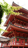 висок kiyomizu Стоковое Изображение