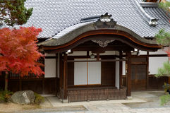 висок kiyomizu Стоковое Фото
