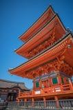 Висок Kiyomizu-dera виска Taisan-ji близрасположенный Стоковое Изображение