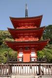 Висок Kiyomizu-dera Стоковые Фото