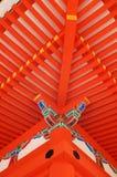 висок kiyomizudera Стоковые Фото