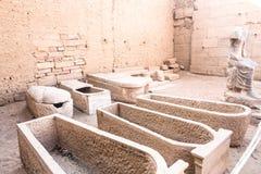 Висок kom Ombo, расположенный в Асуане, Египет стоковые изображения