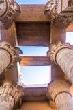 Висок kom Ombo, расположенный в Асуане, Египет стоковое фото