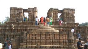 Висок Konark Солнця - архитектурноакустическая красота Индии Стоковое фото RF