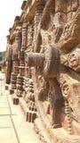 Висок Konark Солнця - архитектурноакустическая красота Индии Стоковая Фотография