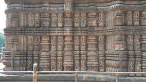 Висок Konark Солнця - архитектурноакустическая красота Индии Стоковое Изображение RF