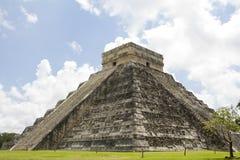 Висок Kukuklan castillo Chichen Itza el, acient культура, Юкатан, Мексика Стоковое Фото