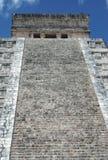 Висок Kukulcan castillo chichen itza Мексика el Стоковые Фото