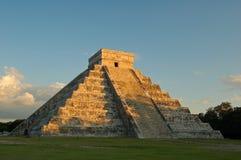 Висок Kukulkan/Chichen Itza, Мексики Стоковые Фотографии RF