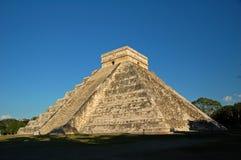 Висок Kukulkan/Chichen Itza, Мексики Стоковое Фото