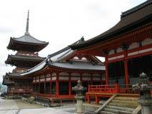 висок kyoto зданий Стоковое фото RF